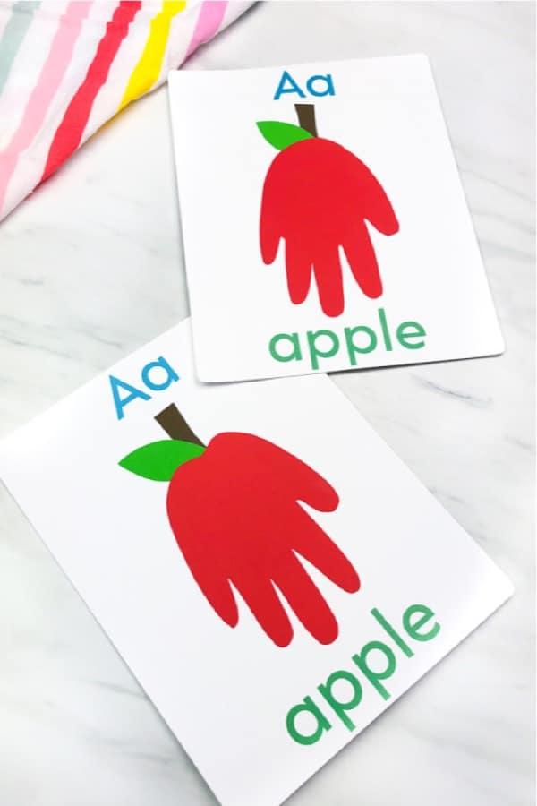 school craft for kids with handprints