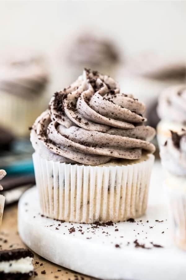 cupcake recipe idea with oreos