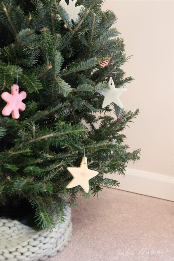 homemade salt dough for ornaments