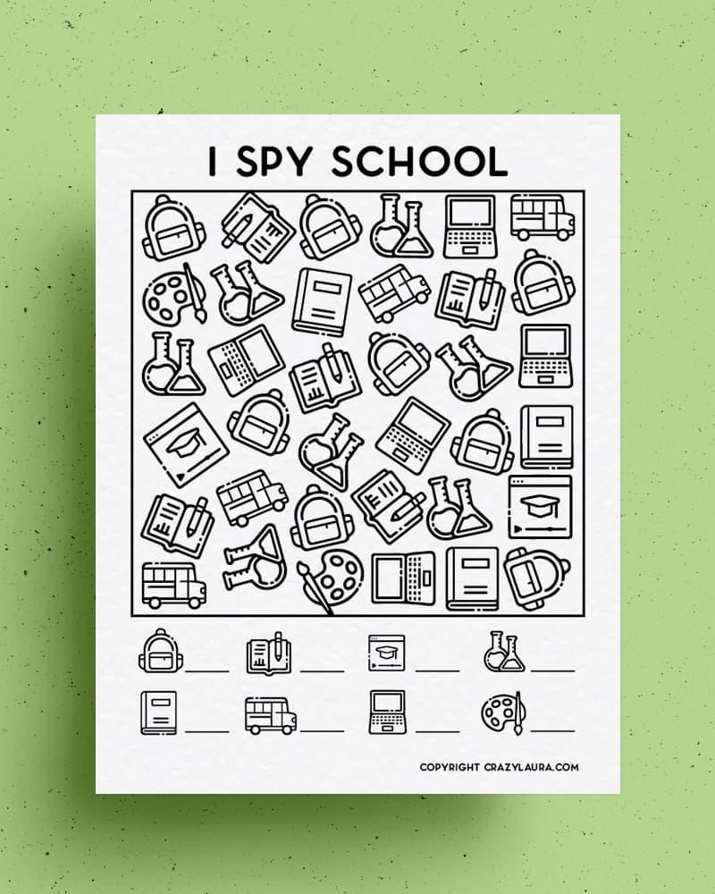 printable i spy activity