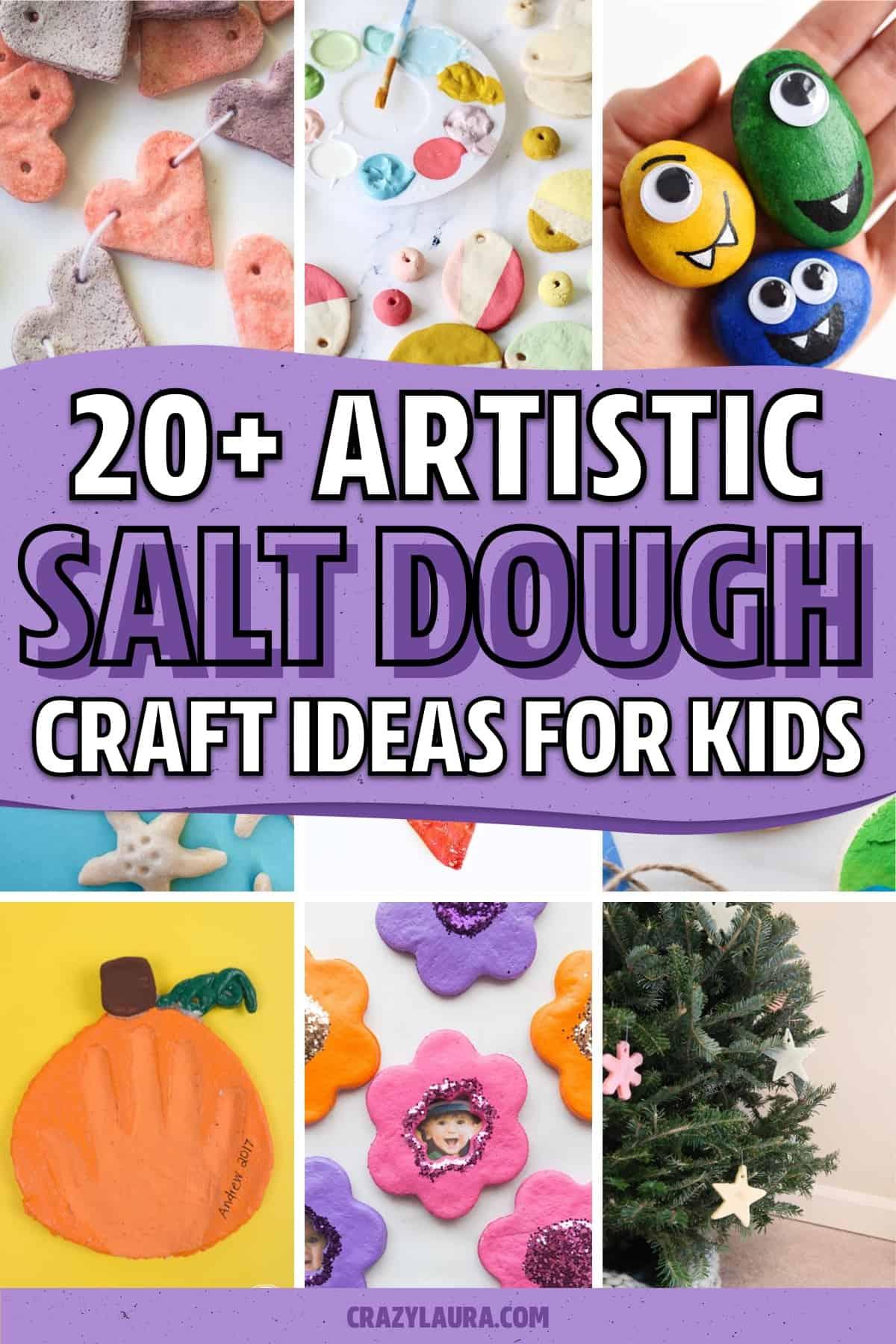 salt dough crafts to try