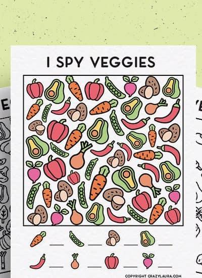 i spy kids veggie printable