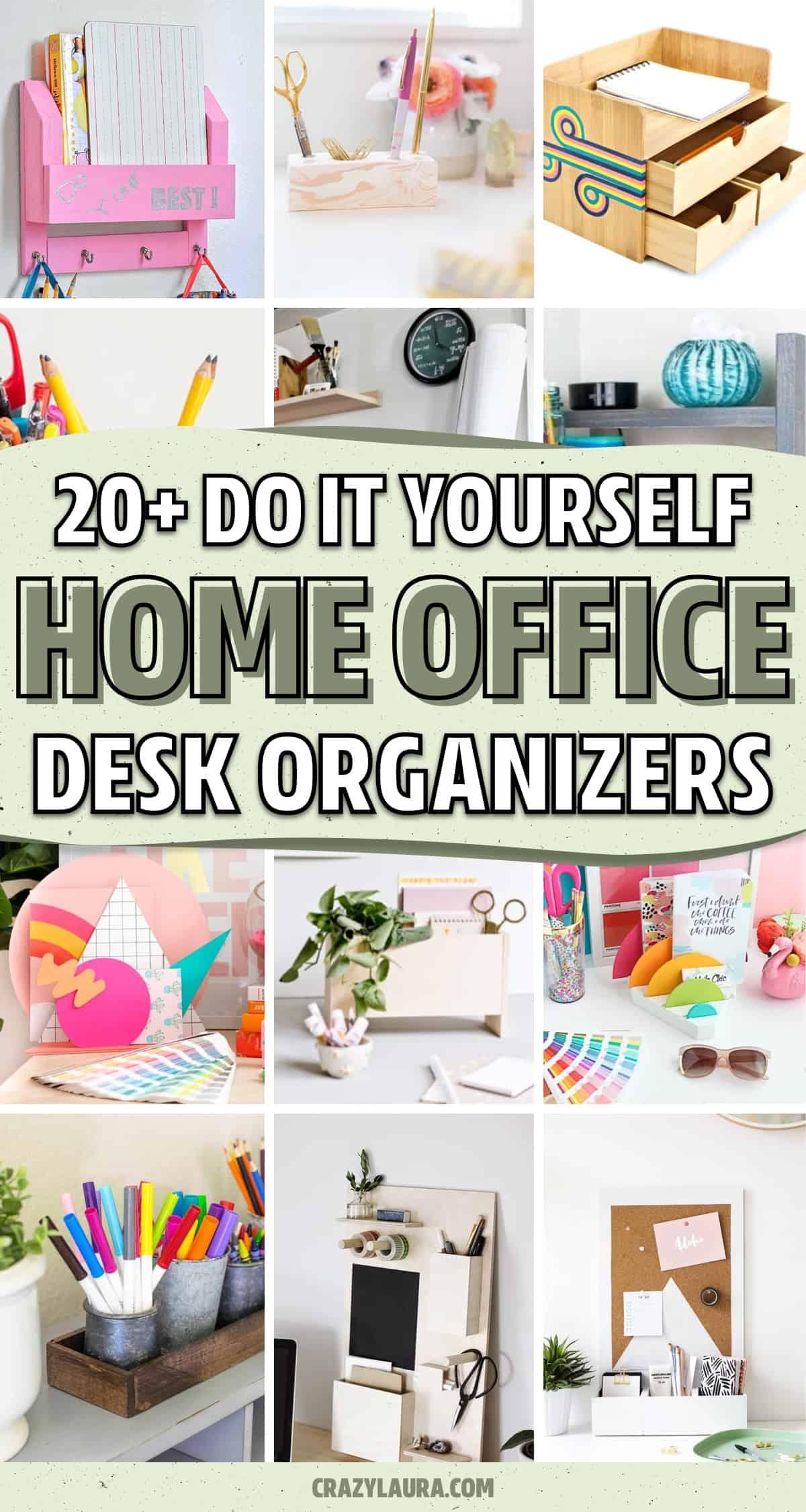 diy desk paper holders