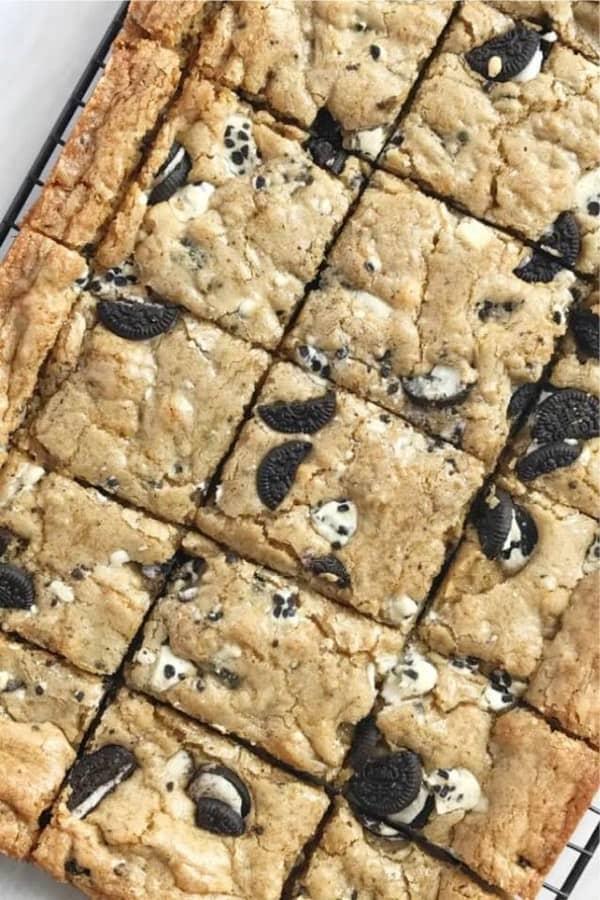 dessert bar recipe with oreo cookies