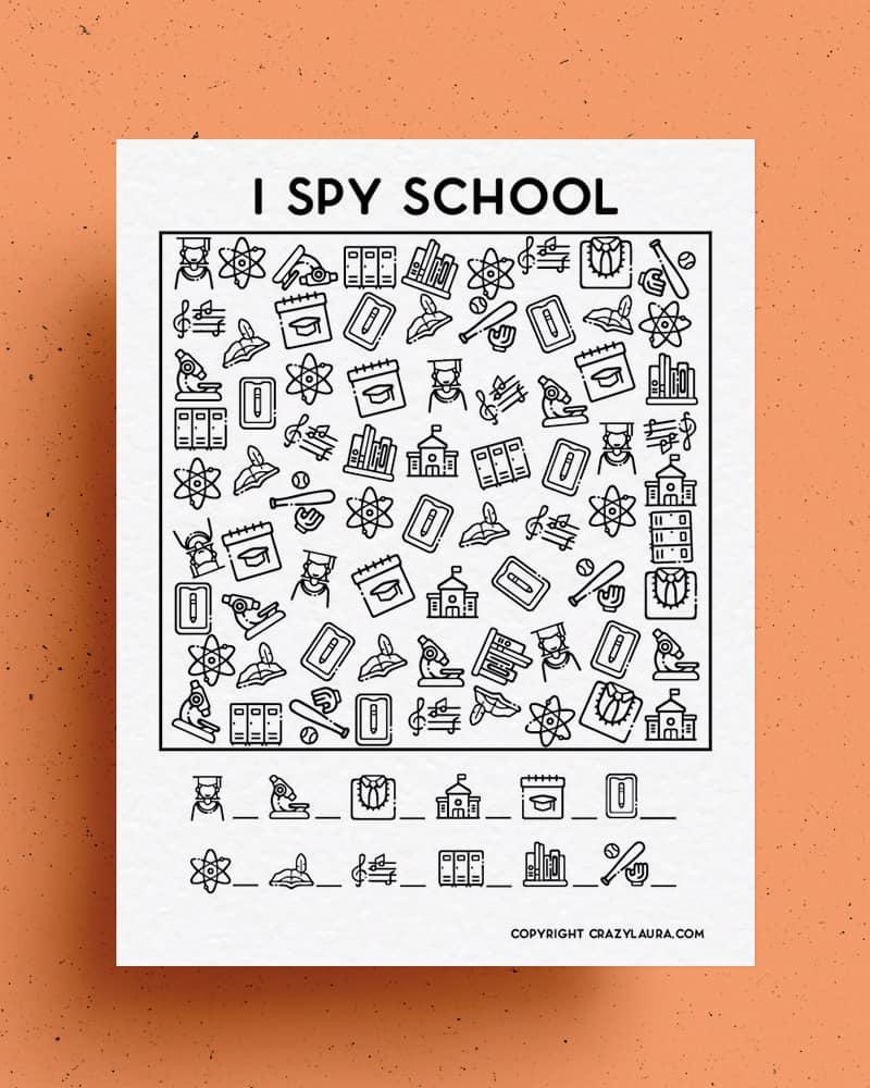 i spy school edition for kids