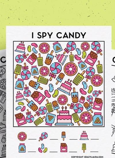 i spy activity sheets for kids