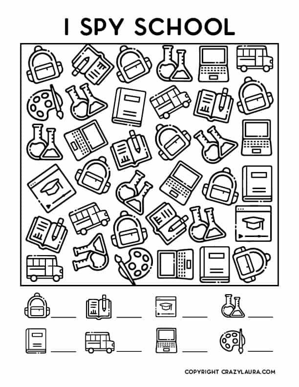 printable school game sheets