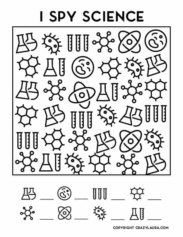 free i spy science printable for kids