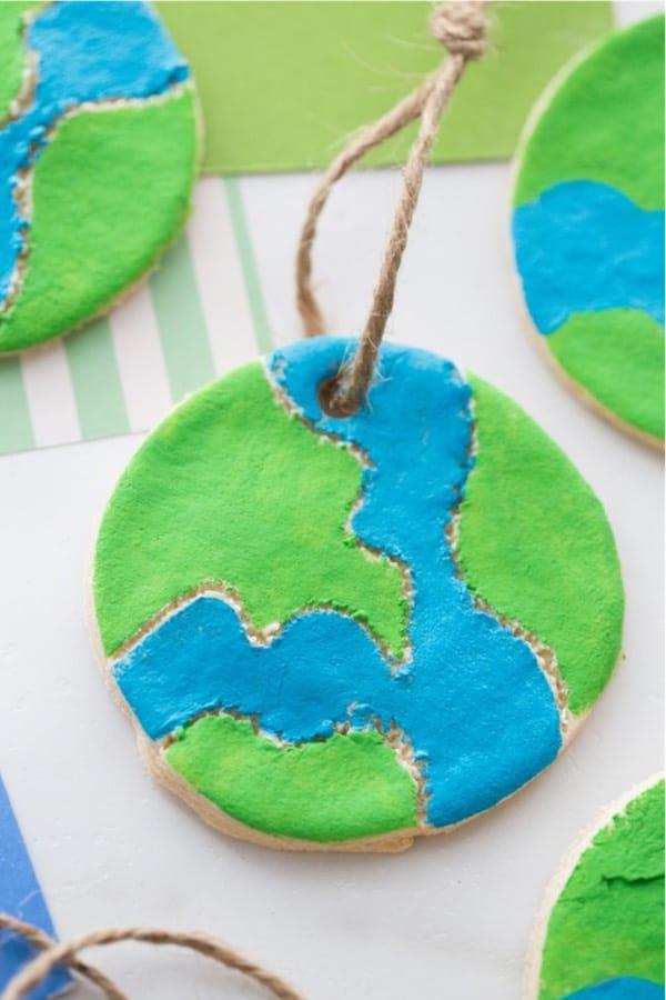 mini salt dough craft for earth day