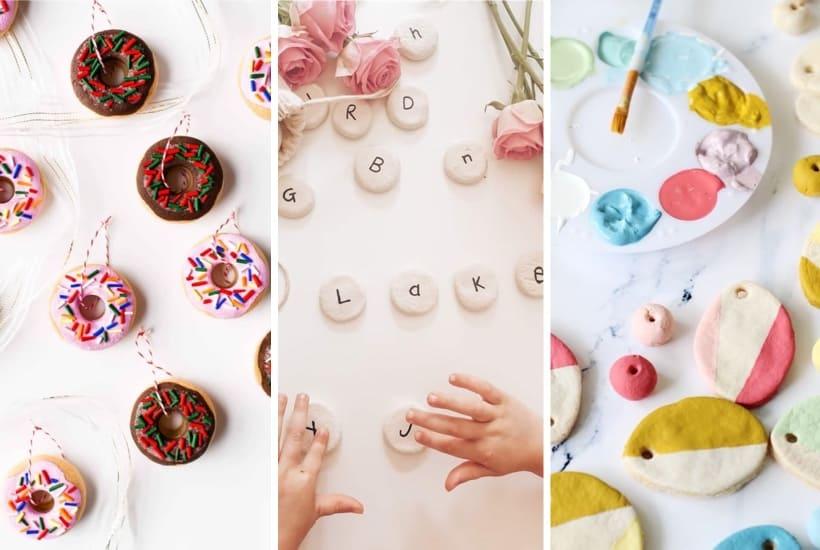 20+ Super Easy Salt Dough Crafts For Kids To Make