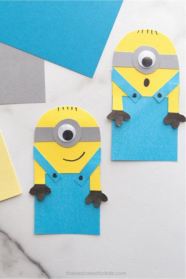 minion craft for school