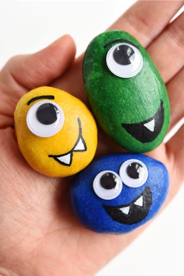 cute monster pet craft for kids