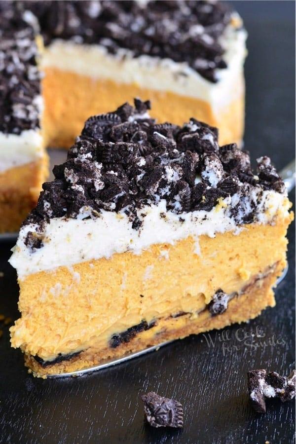 easy to make pumpkin cheesecake