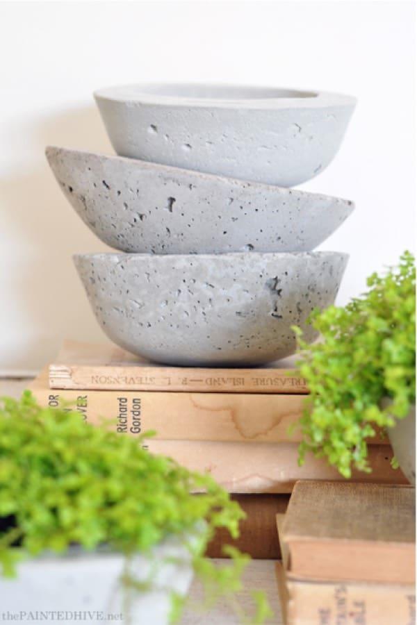 round bottom concrete plant holder tutorial