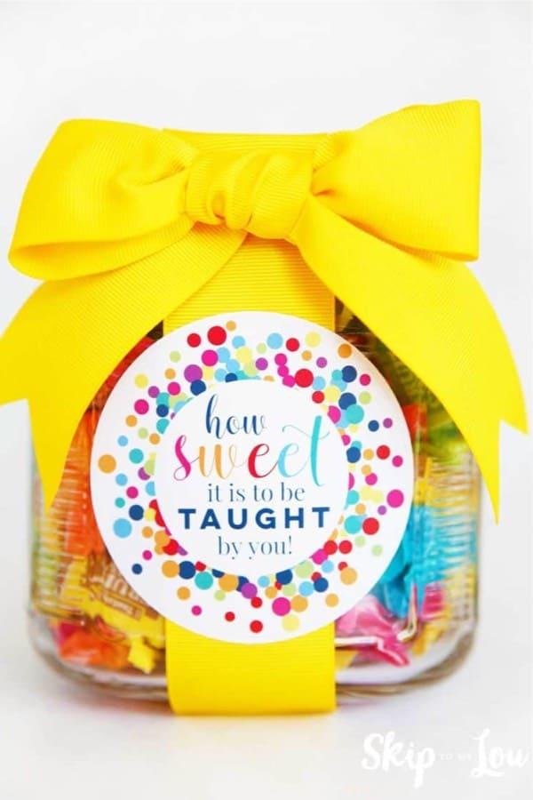 make your own teachers gift tutorial