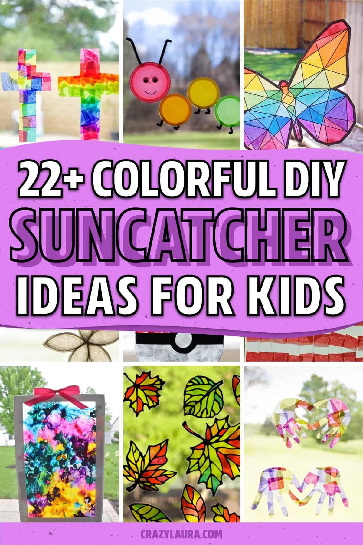 easy to make suncatcher crafts
