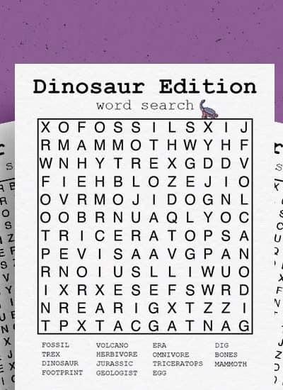kids dinosaur activity sheets