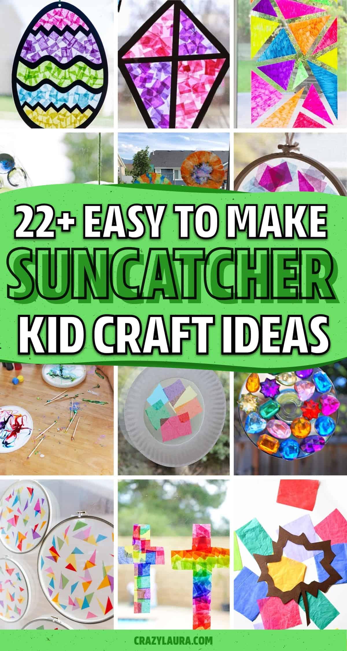 kid suncatcher craft ideas