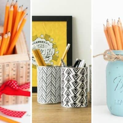 diy pencil holder ideas to make