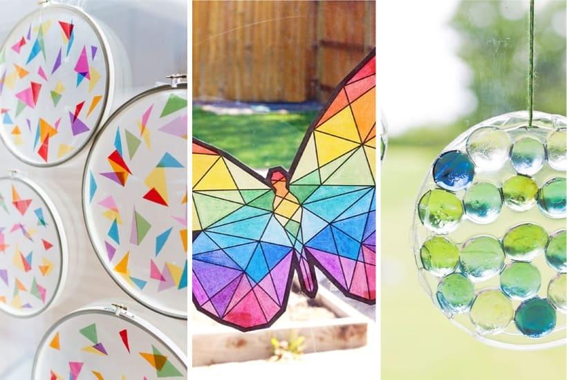 22+ Best DIY Suncatchers & Craft Ideas For Kids