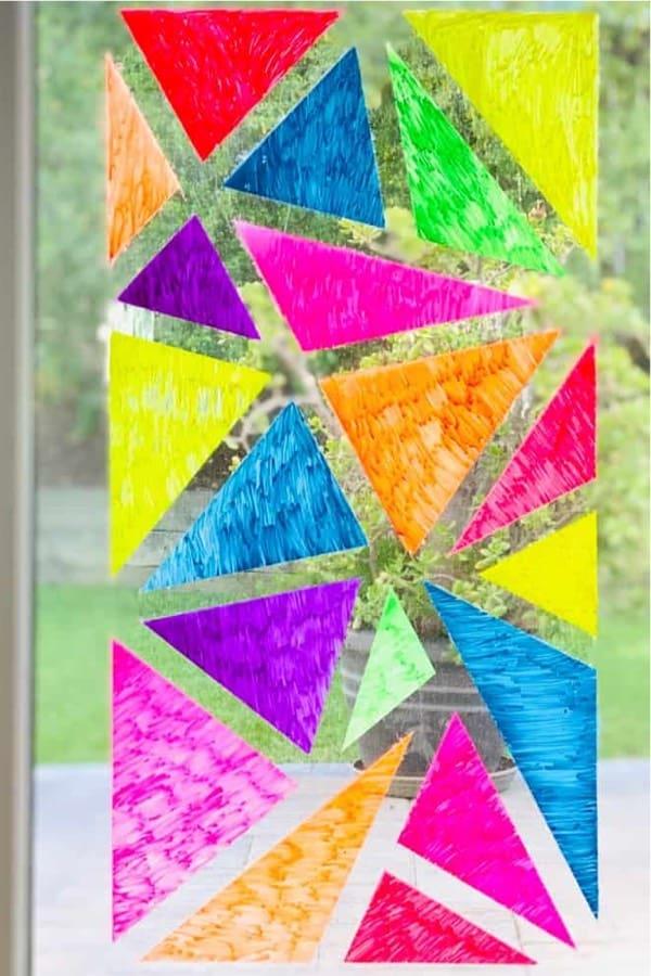 diy window chalk for kids