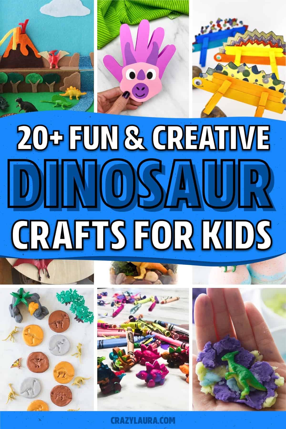 creative dinosaur kids craft