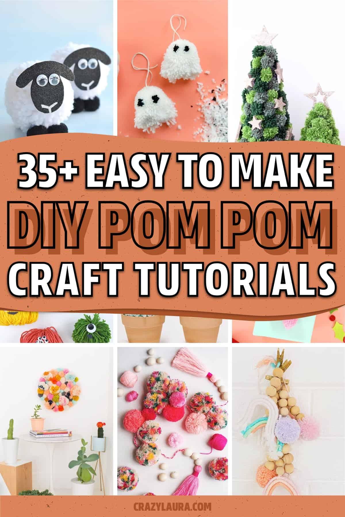 diy pom pom tutorials to follow