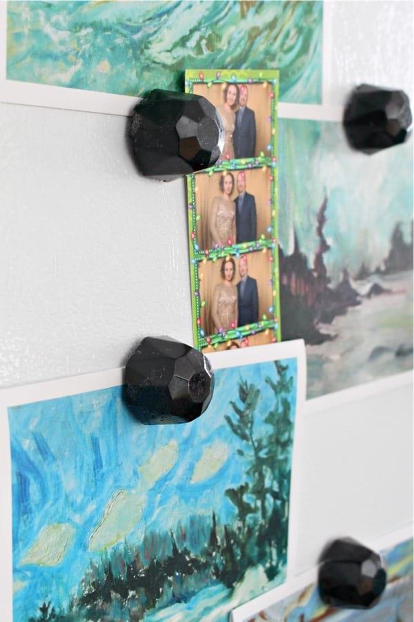 craft tutorial for diy resin magnet