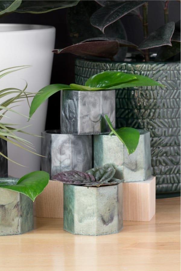 creative resin planter craft guide