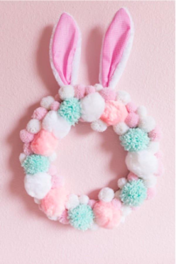 easter bunny yarn craft tutorial