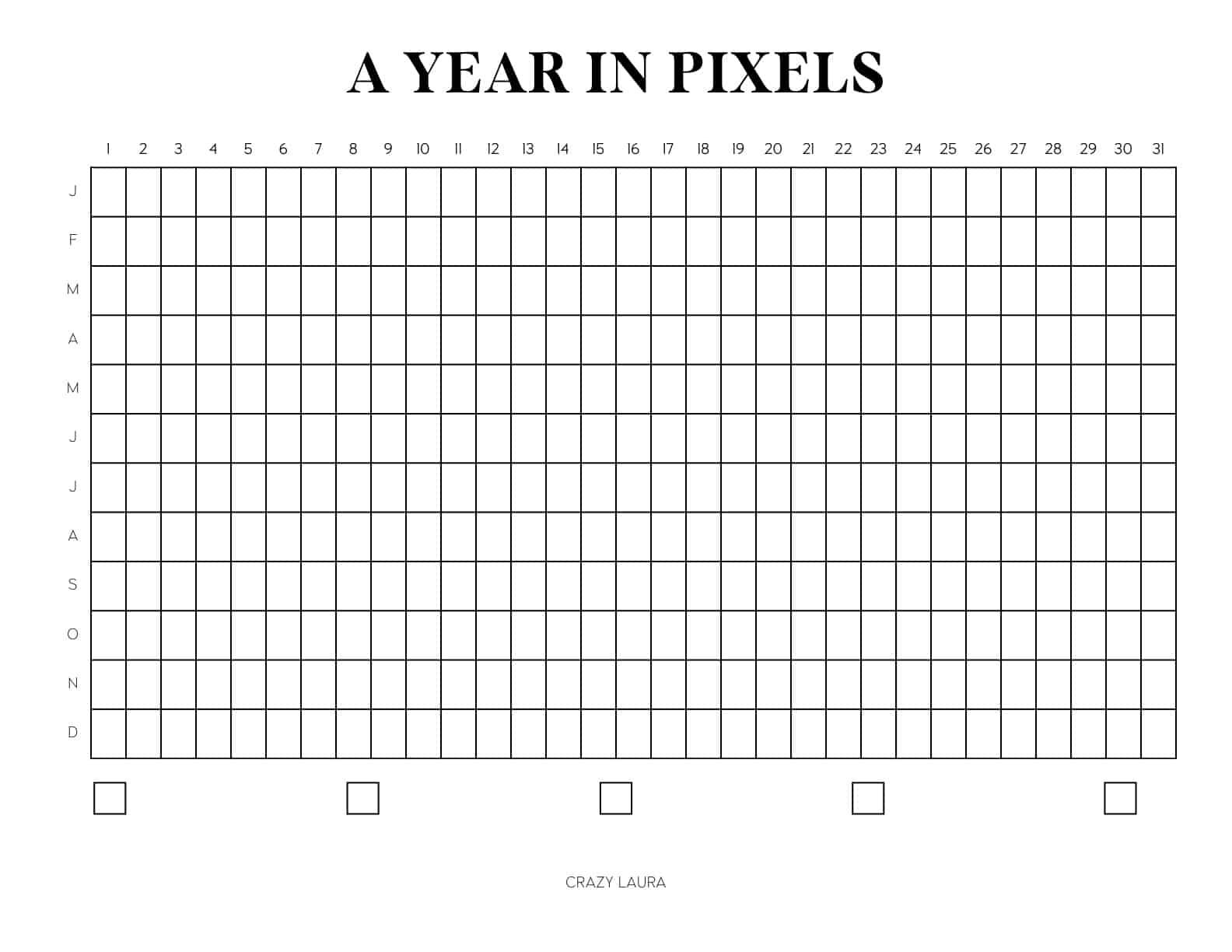 year in pixels horizontal pdf