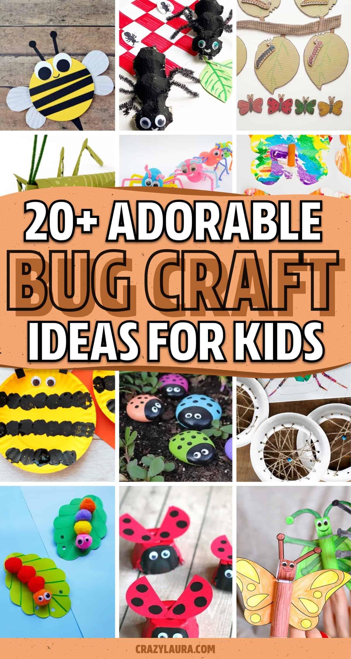 super easy bug craft inspiration for kids