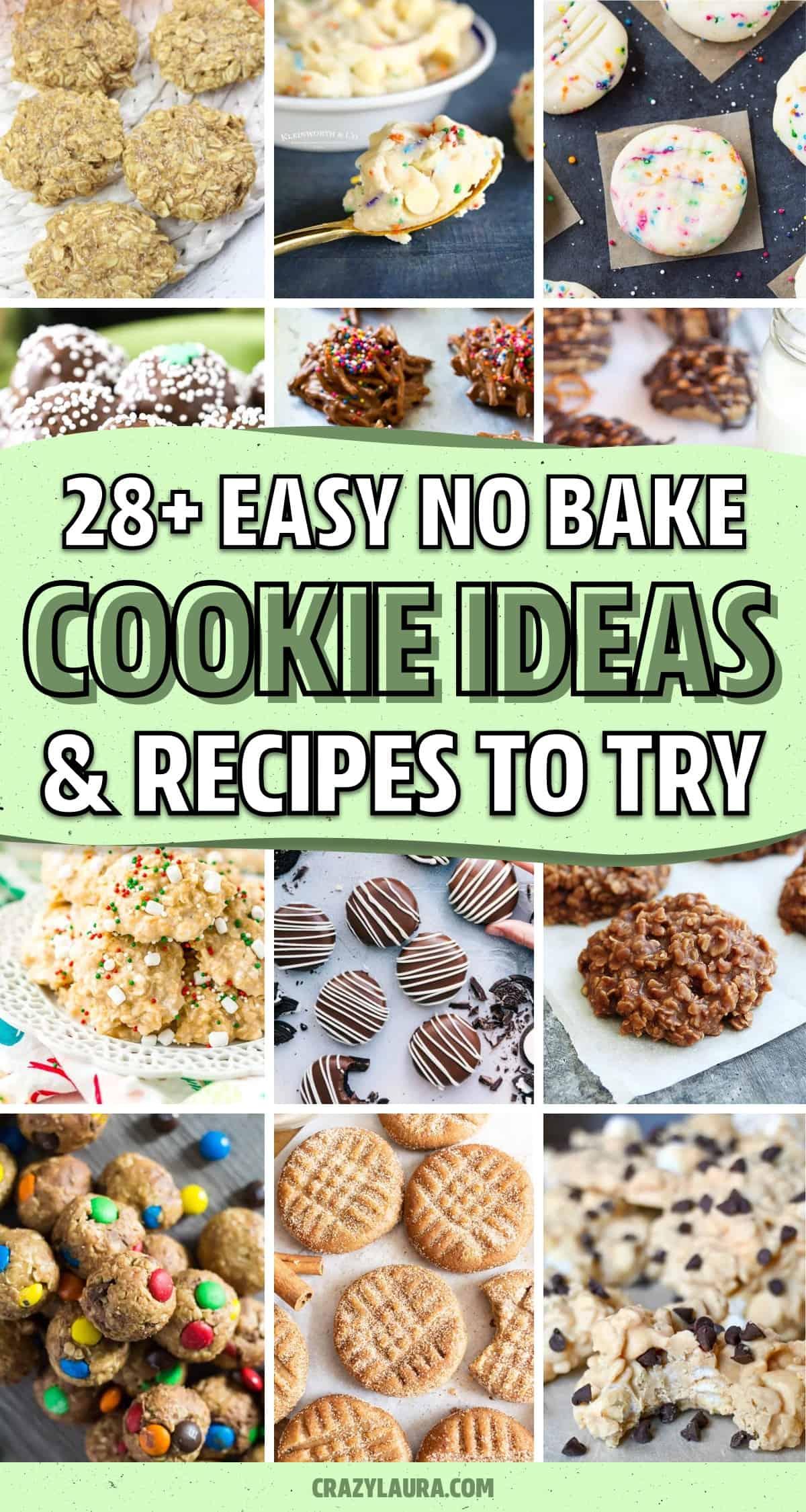 easy to make no bake cookies