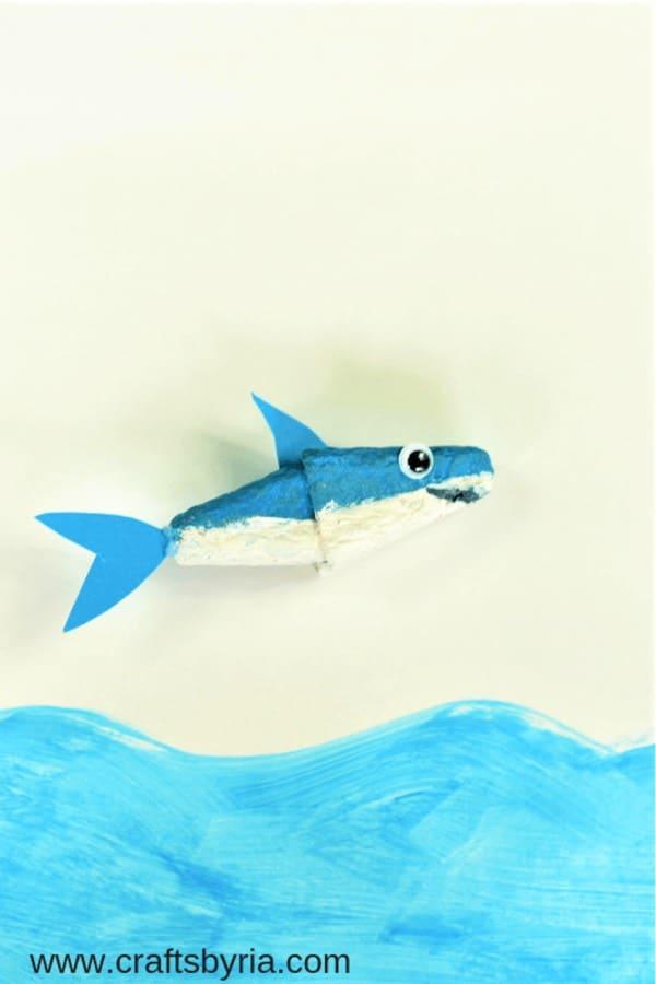easy kids shark craft ideas