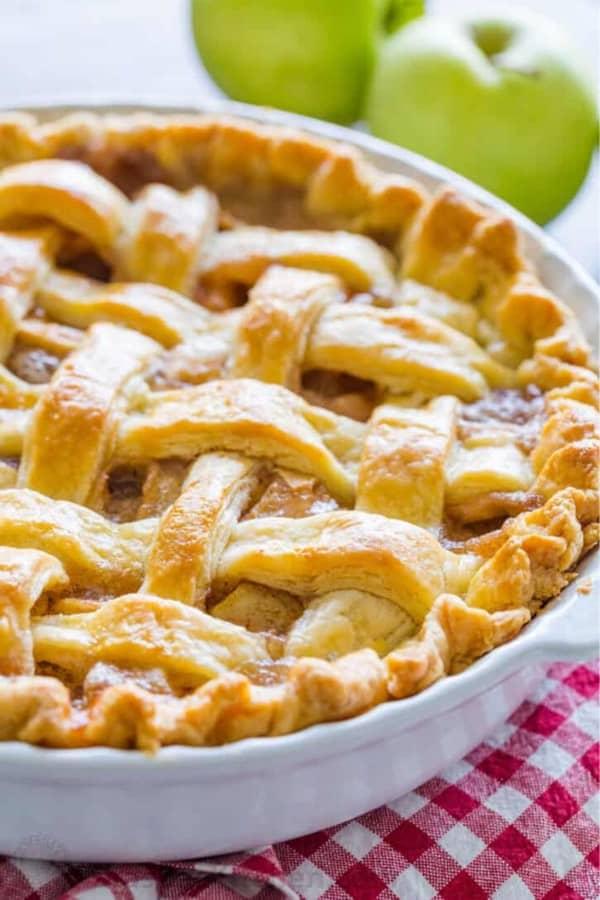 classic apple pie dessert idea