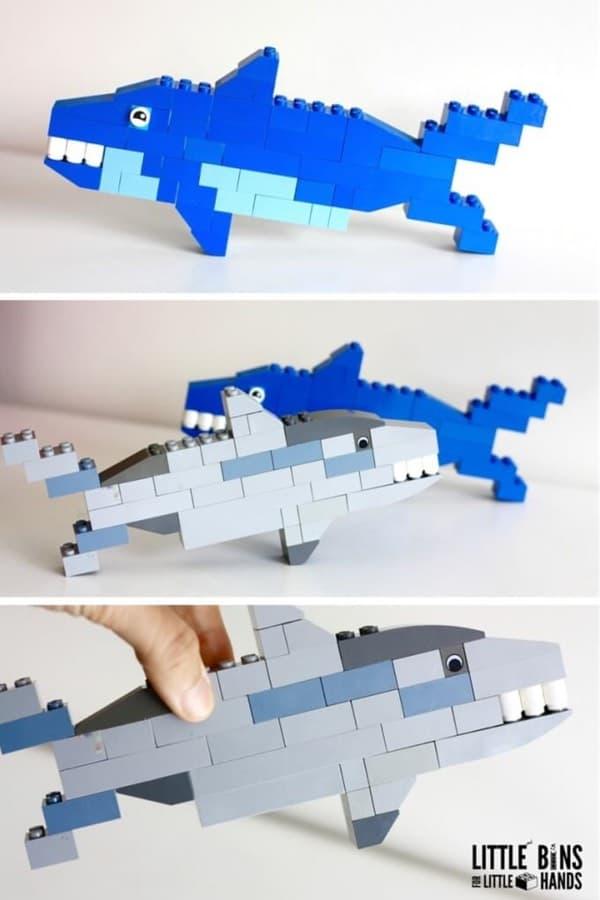 creative shark week kids crafts
