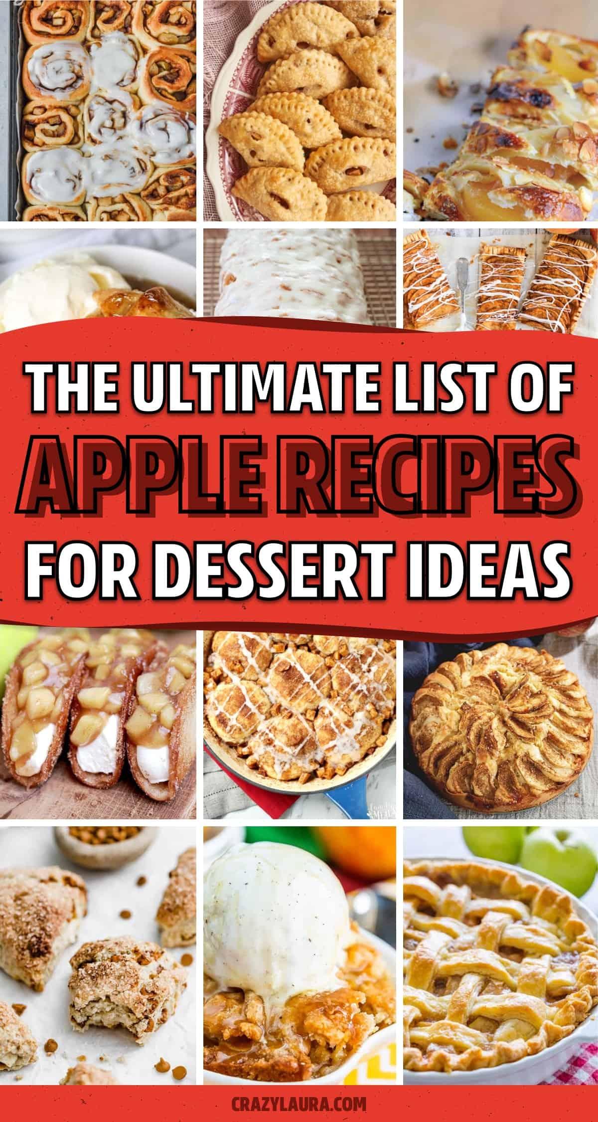 easy to make apple dessert ideas