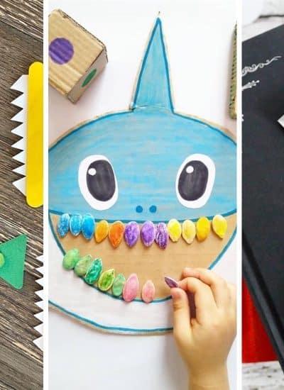 easy shark craft ideas