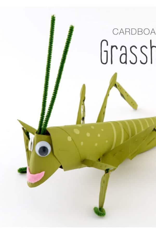 toilet paper bug craft