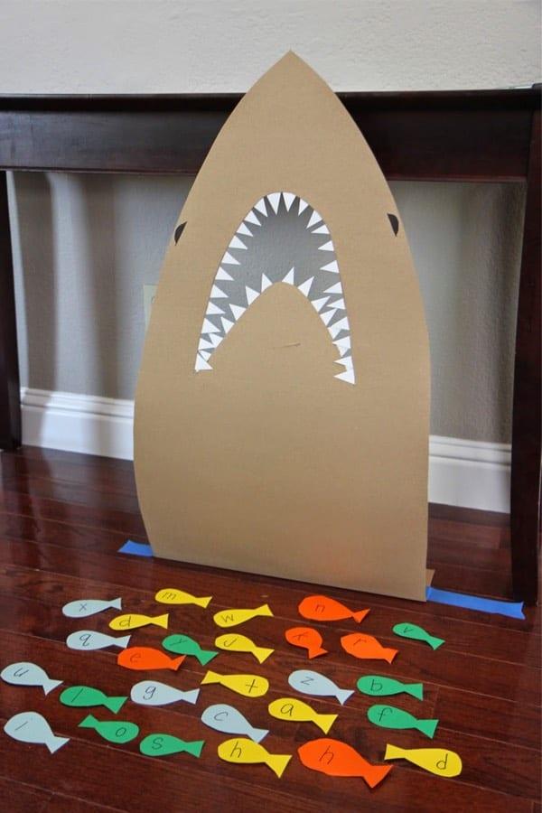 diy shark kids game