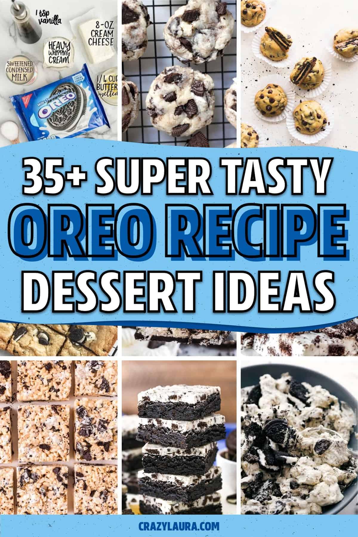 easy dessert ideas with oreo cookies