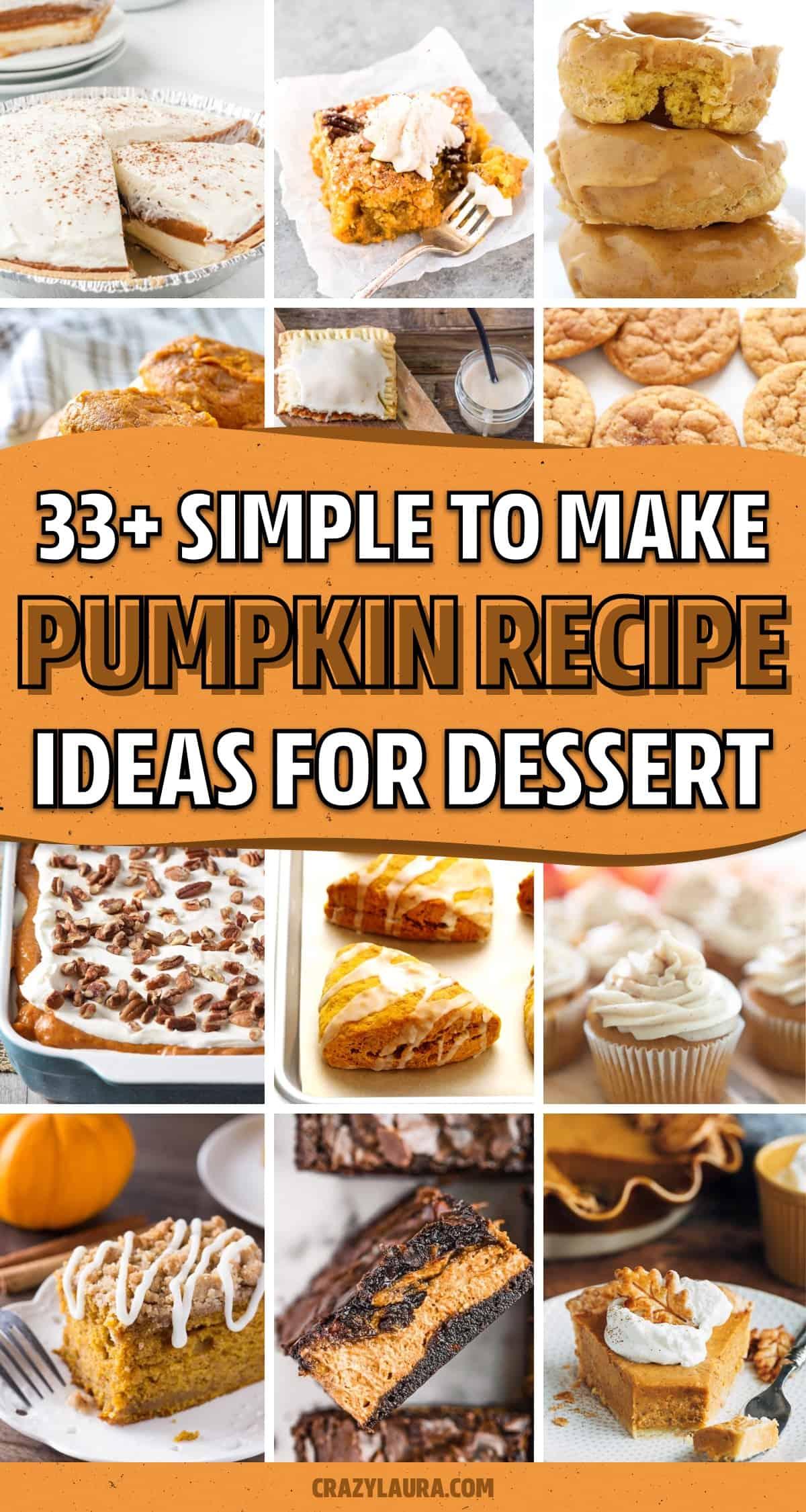 homemade pumpkin treats for fall