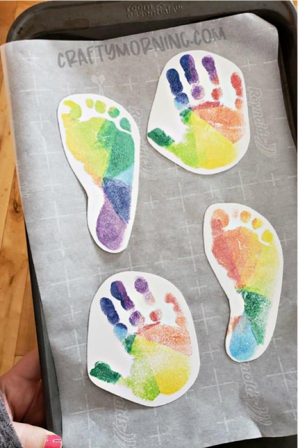 handprint diy craft for kids