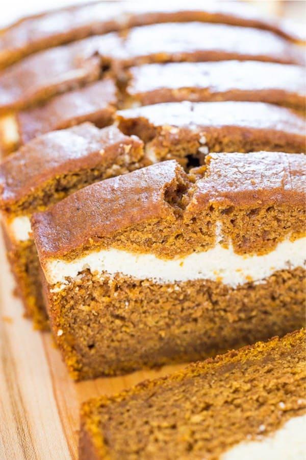 cream cheese and pumpkin dessert recipe idea