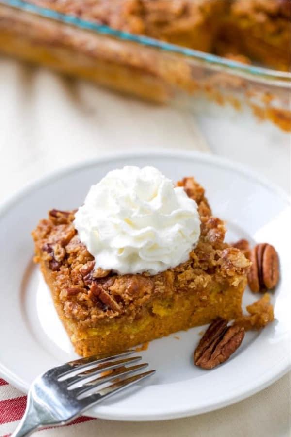 dump cake dessert for thanksgiving