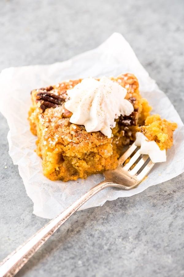 homemade cake recipe with pumpkin
