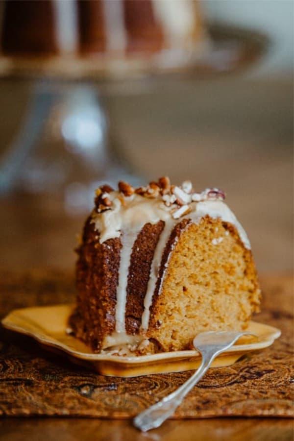 pumpkin spice dessert cake recipe tutorial