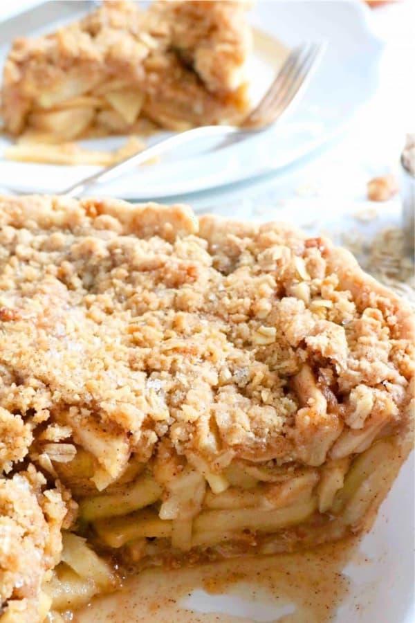 easy apple crisp recipe tutorial