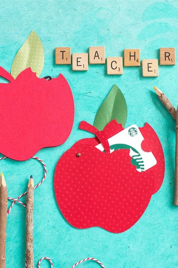 diy gift card holder apple template