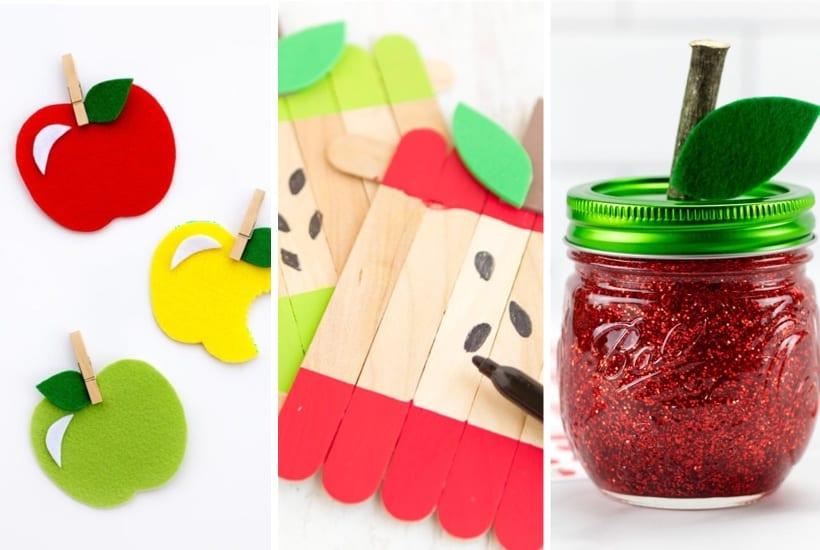 30+ Best Apple Crafts & Tutorial Ideas For Kids